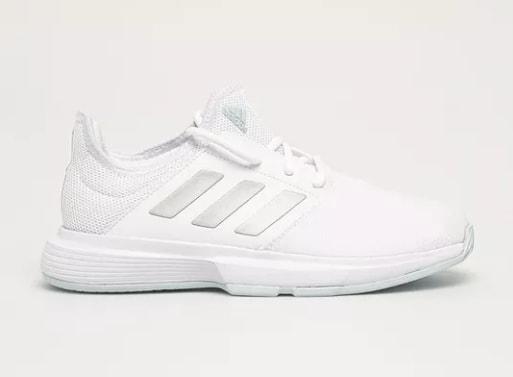 adidas Performance - Pantofi Game Court albi de dama