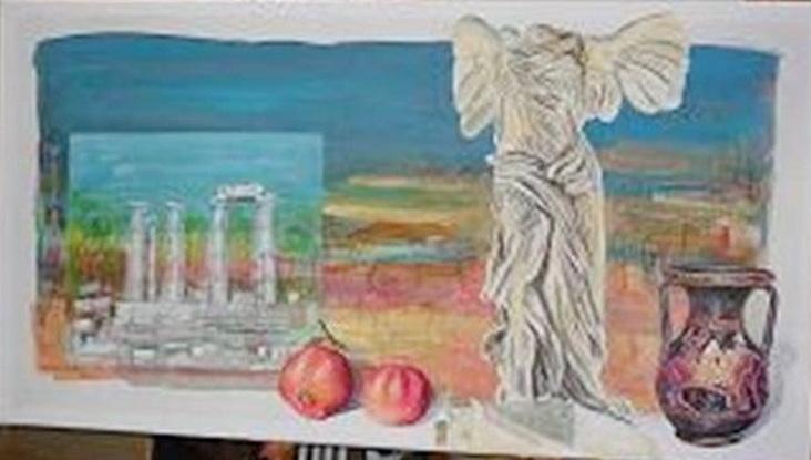 Έκθεση έργων ζωγραφικής του Αθηνόδωρου στο Νομαρχείο Αλεξανδρούπολης