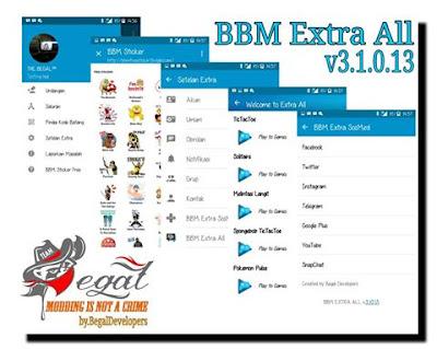 Download BBM Multi Mod BBM1+BBM2+BBM3+BBM4 v3.1.0.13 Apk