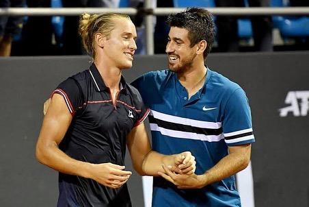 Orlando Luz Rafael Matos tênis brasileiro