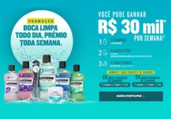 Listerine Boca Limpa Todo Dia, Prêmio Toda Semana Promoção 2021