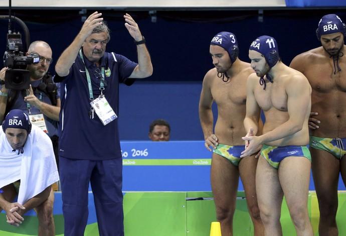 Brasil polo aquático Olimpíadas