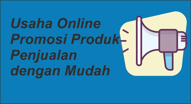 Usaha Online Promosi Produk Penjualan Toko Online