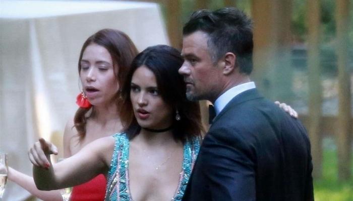 Eiza Gonzalez comparece ao casamento de Ashley Greene