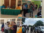 Jelang Hari Raya Idul Adha 1440 H Upika Pelalawan Laksanakan Penyemprotan Disinfektan