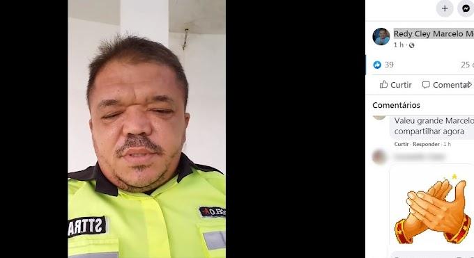 Agente da STtrans de Patos, faz denuncias em vídeo, nas suas redes sociais e pede ação dos vereadores e do MP