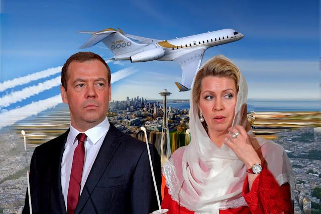 самолет Bombardier Global Express 5000 жены Дмитрия Медведева, Светланы Медведевой