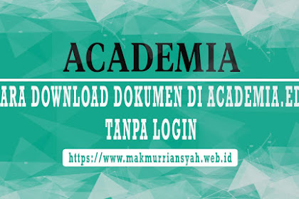Cara Download Academia.edu Tanpa Login