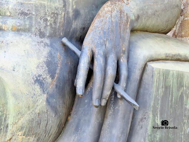 Musa da Escultura - Monumento a Ramos de Azevedo (detalhes)
