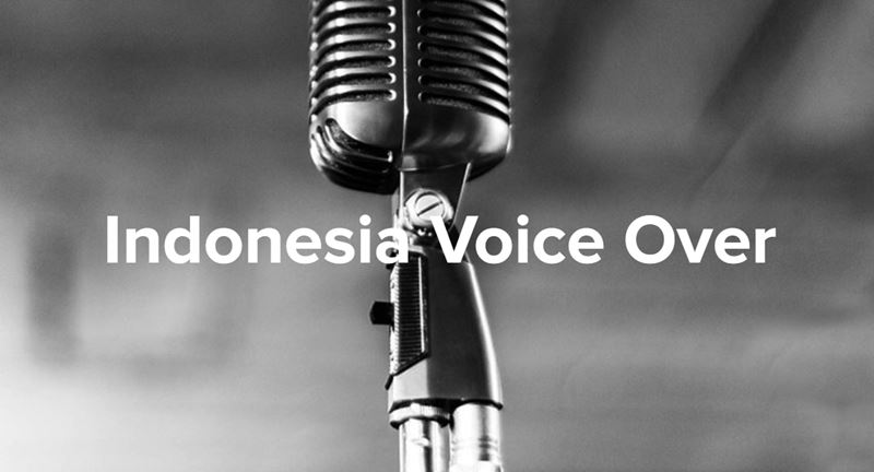 indonesia voice over