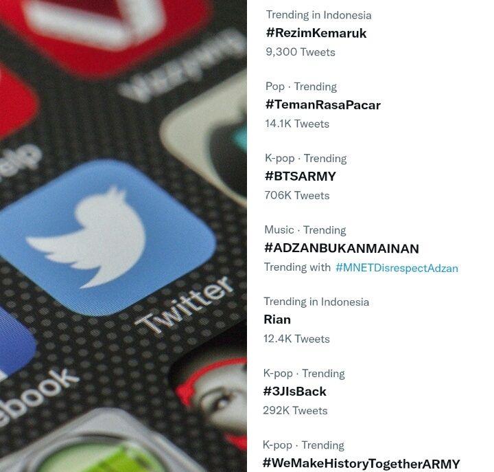 Singgung Wacana Presiden 3 Periode, Tagar #RezimKemaruk Trending