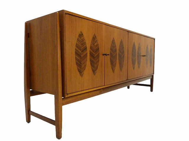Kipp Stewart for Calvin Furniture Teak & Rosewood Sideboard American Design Foundation 2