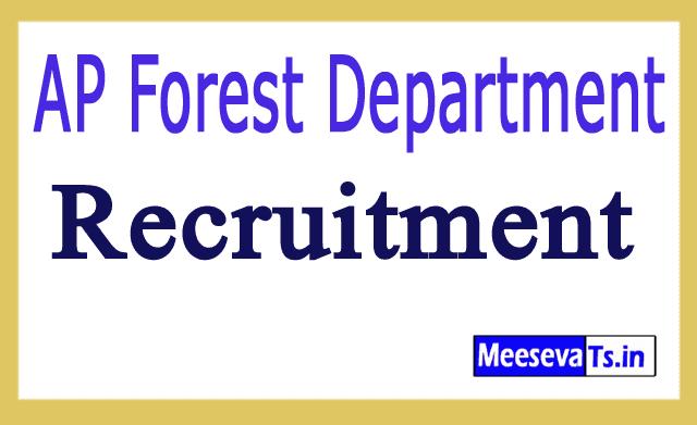 AP Forest Department Recruitment