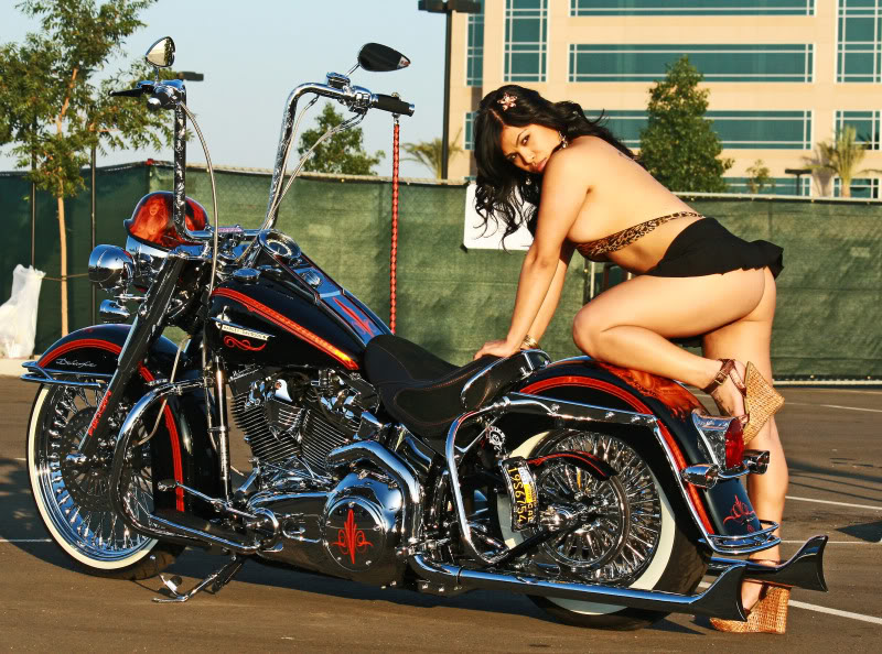 Sexy Girls And Bikes