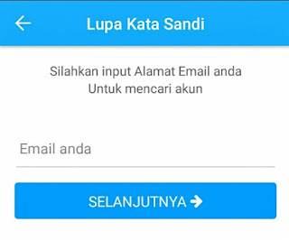 Luoa password Aplikasi BPJSTKU