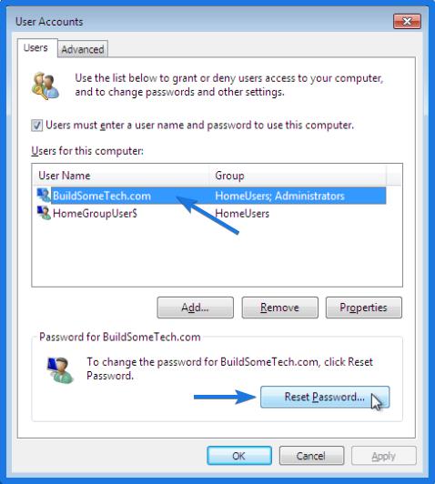 User Account Administrator