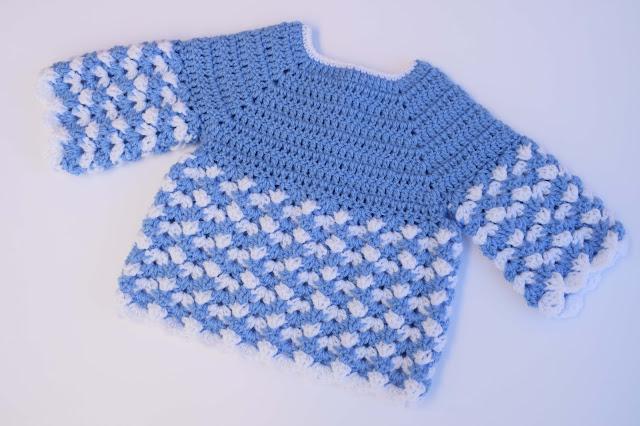 1 - Crochet Imagen Saco,jersey y chambrita a crochet y ganchillo por Majovel Crochet