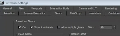 3Ds max Gizmo Not showing on my object -3DLecture