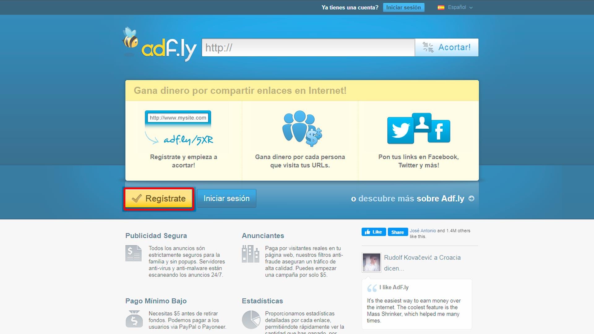 Como funciona adfly y como registrarme