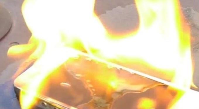 Una fiammata sopra al comodino, telefonino si incendia in casa: paura a Lecce