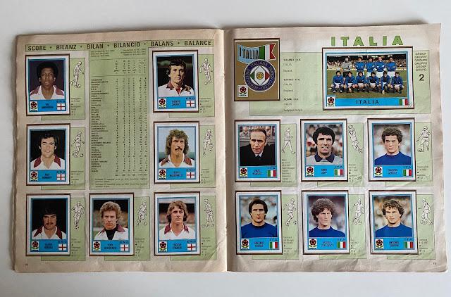 Figurine Italia Europa 80