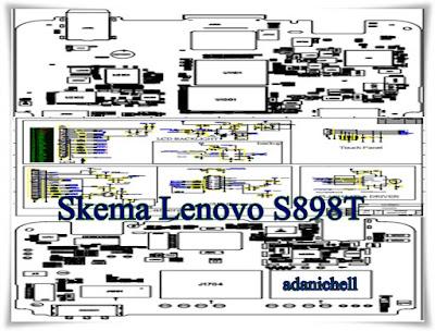Skema Lenovo S898T