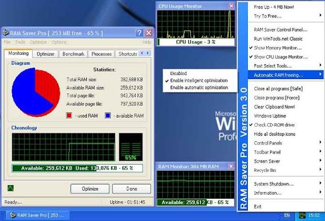 RAM Saver Pro 19.5 - Tối ưu RAM máy tính
