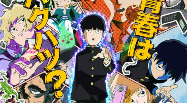 Anime Mob Psycho 100 Mengungkapkan Key Visual untuk OVA Terbaru
