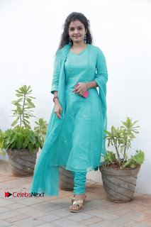 Tamil Actress Preethi Stills in Green Salwar Kameez at Kuzhalosai 2nd Anniversary Fund Raising Event  0042.jpg