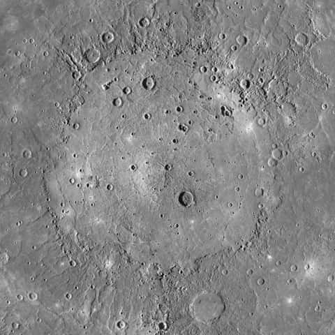 Mighty Caloris basin
