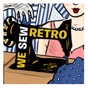 sewing retro