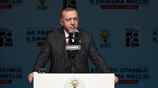 أردوغان: نبني خطًا بحريًا رائعًا بين تركيا وليبيا
