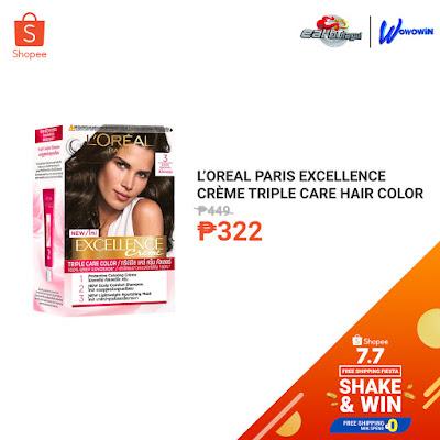 L'Oreal Paris Excellence Crème Triple Care Hair Color