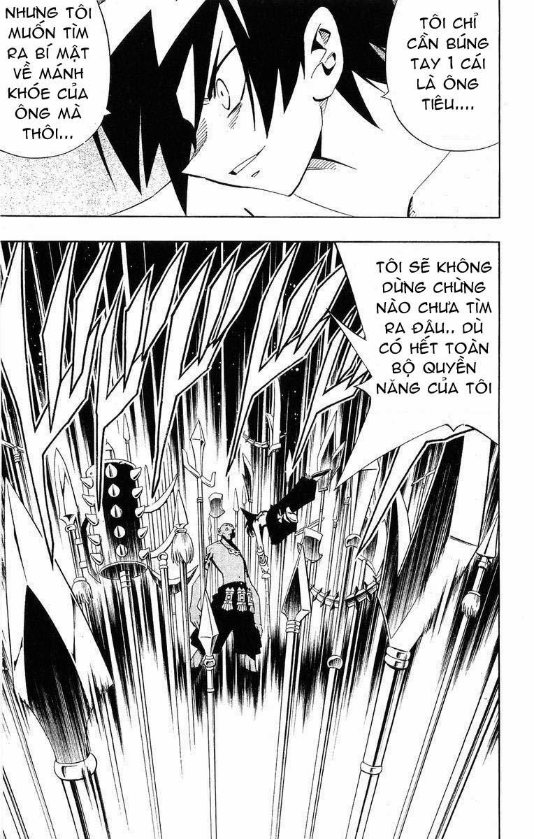 Shaman King [Vua pháp thuật] chap 222 trang 12
