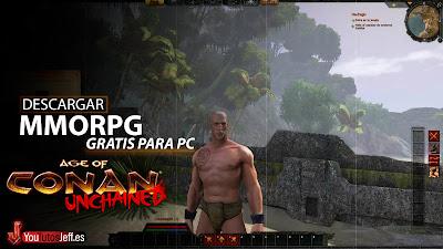 MMORPG Gratis, Descargar Age Of Conan para PC Español
