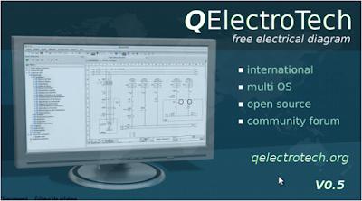 تحميل برنامج QElectroTech الرائع لرسم الدوائر الكهربائية والبنوماتيكية