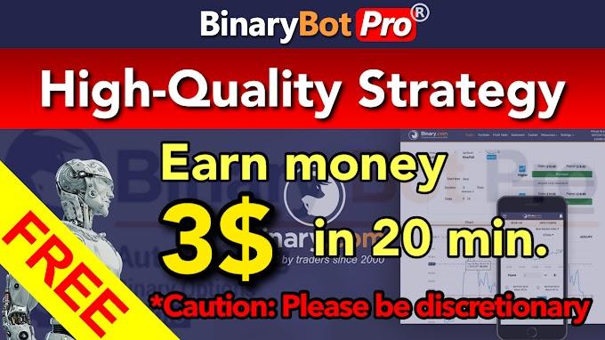 High-Quality Strategy | Binary Bot Pro