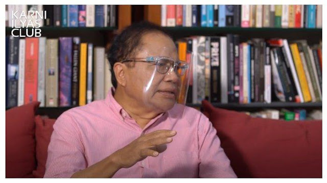 Rizal Ramli Ragukan Jawaban Jokowi soal Presiden 3 Periode: Mungkin Harus Pernyataan di Atas Materai
