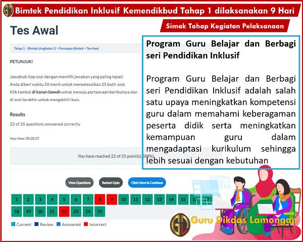 Bimtek Pendidikan Inklusif Kemendikbud Tahap 1 dilaksanakan 9 Hari, Simak Tahap Kegiatan Pelaksanaan