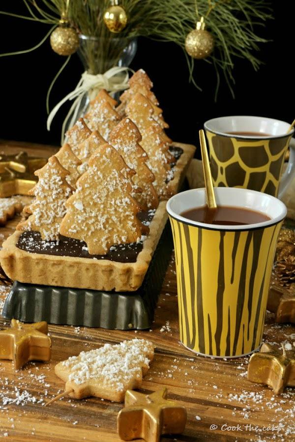 tarta-de-chocolate-y-canela, crostata-di-natale, chocolate-and-cinnamon-tart