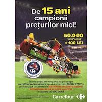 Carrefour, de 15 ani este campionul preturilor mici in Romania