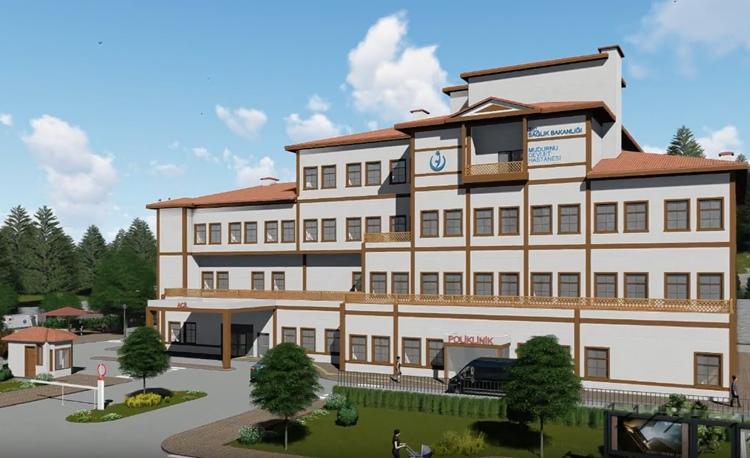 Yeni Devlet Hastanesinin İnşaatı Başladı