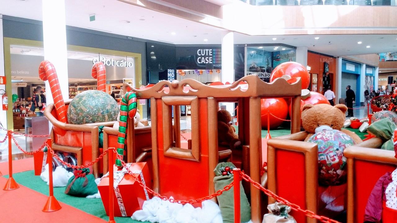 Natal em Belo Horizonte - Praça da Liberdade e Shoppings