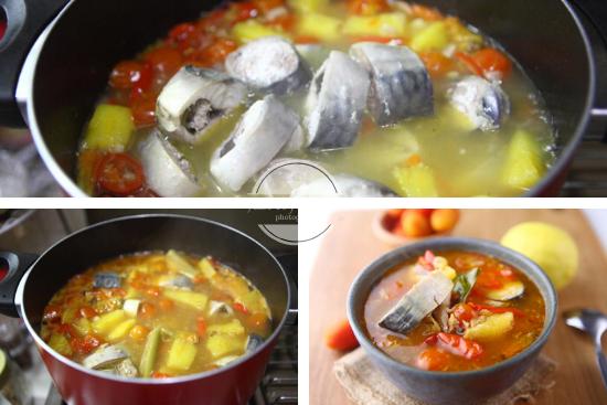 Resep Sup Ikan Tomat Pedas JTT