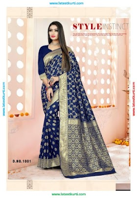 GAZZING SILK 2 DESIGNER SILK LATEST SAREE COLLECTION