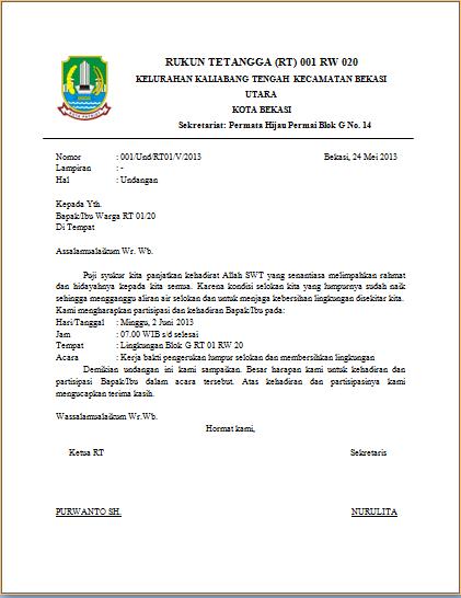 contoh surat pengunduran diri ketua osis dalam bahasa