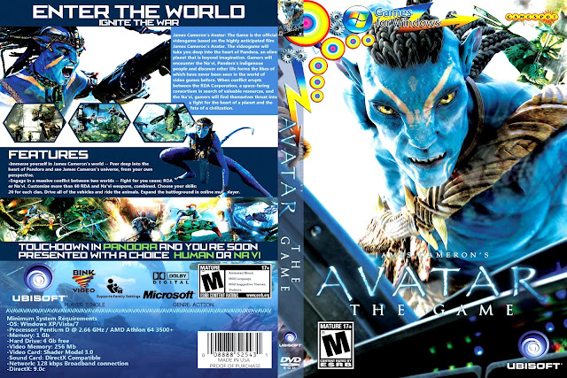 Capa Avatar The Game PC