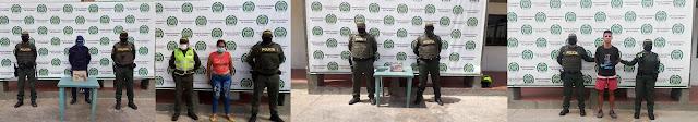 Capturados dos sicarios, un atracador y una mujer que hirió a un hombre