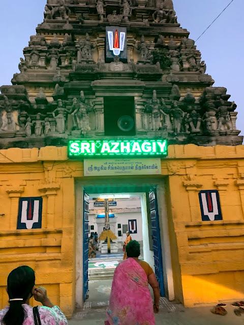 Sri Azhagiya Singaperumal temple