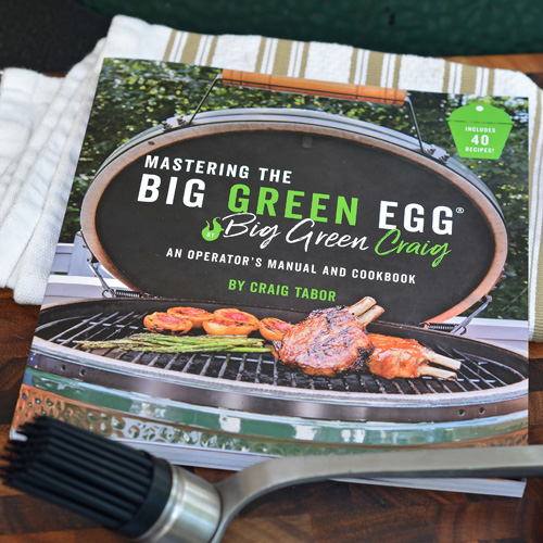 Review of Mastering The Big Green Egg by Craig Tabor Page Street Publishing